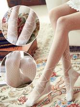 Sweet Lolita Stockings Ballet Polka Dots Lolita Thigh Highs