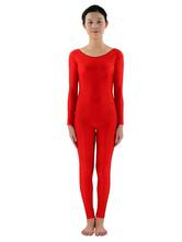 Halloween Kostüm Unisex Unitard Lycra Spandex einfarbig Polyester Overall  Karneval