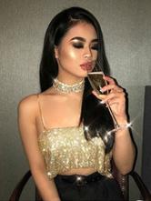 Frauen Körper Kette 2020 Bralette Gold Sexy Körperschmuck