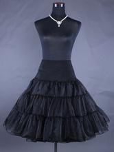 Lolita Unterröcke  süß und hübschen Style mit Rüschen Polyester Lolita Accessoires 2019