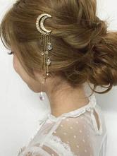 Lolita Haar-Accessoires in Golden mit metallischen Optik im altmodischen Stil Accessoires Metall