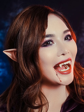 Halloween False Teeth Vampire Fangs Prop Horror Costume Decoration Halloween