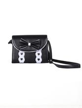 Lolitashow Unique Bow PVC Lolita Bag