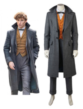 Carnevale Costume Cosplay 2021 Newt Scamander Fantastic Beasts And Where To Find Them Costume Cosplay Carnevale
