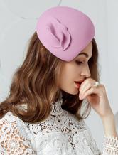 Cosplay Chapeau Accessoire rose clair en laine chapeau de fête