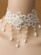 Классический ожерелье из лолиты из жемчуга