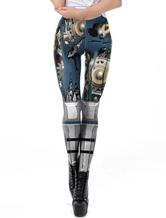 Leggings Déguisements Halloween 3D Imprimé Femmes Sport Pantalons De Yoga
