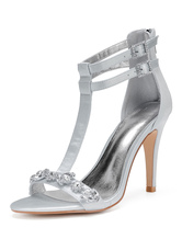Silberne Hochzeitsschuhe Grosshandel Silberne Hochzeitsschuhe Online