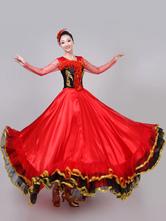 Carnevale Costumi da Ballo Paso Doble 2021 Costume da danza spagnola delle donne Costume di prestazione di flamenco della corrida Costume Halloween
