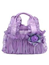 Klassische Lolita Bag Ruffle Flower Lolita Handtasche im viktorianischen Stil