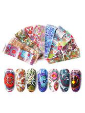 Женские наклейки для ногтей Пластиковые наклейки для ногтей 10 штук в наборе