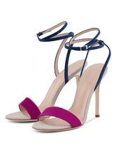 High Heel Sandalen Wildleder Open Toe Ankle Strap Sandal Schuhe für Frauen