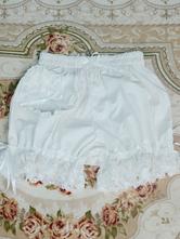 Sweet Lolita Bloomers Кружевные бантики Свободные ноги Белые шорты Lolita