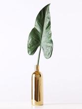 Flapper Party Accessory Vase en placage de porcelaine doré Déguisements Halloween
