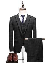 Bräutigam Anzug elegante Polyester formelle Party Anzüge für Männer
