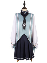 Halloween Kostüm Vocaloid Cosplay Kostüm Kagamine Rin Spring Sakura 6 Stück Cosplay Set Faschingskostüme