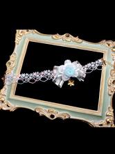 Collier Sweet Lolita Bows Flower Lolita Jewelry Déguisements Halloween