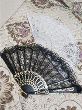 Black Lolita Accessories Lace Poly Cotton Blend Accessory Miscellaneous