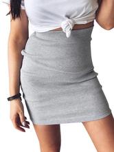 Sexy Bodycon Skirt For Women Stretchy Short Skirt