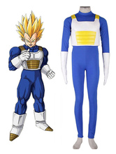 Dragonball Cosplay Kai Vegeta Saiyan Battle Outfit Anime Cosplay Costume