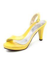 High Heel Sandals Women Peep Toe Slingbacks Sandal Shoes