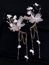 Головные уборы Свадебные головные уборы Шпилька Металлическая Аксессуары для волос