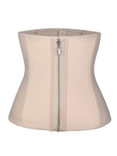 Bustiers Corsets Lingerie Corset For Women Nude Athletic Zipper Sleeveless