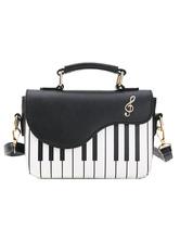 Sweet Lolita Bag Black Shoulder Bag PU Leather Lolita Accessories