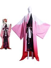 Bungou Stray Dogs Cosplay Kouyou Ozaki Cosplay Kimono Costume