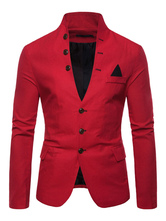 Men Single Breasted Suits Jackets
