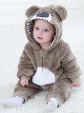 Pijama Kigurumi Onesie Macacão de flanela infantil da Koala