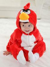 Kigurumi Пижамы Onesie Angry Birds Красный комбинезон для малышей