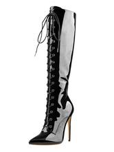 """Stivali al ginocchio Stivali a punta con tacco a spillo 4.7 """"Stivali da donna"""