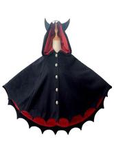 Capispalla Lolita gotici con mantelli neri. Capispalla Lolita invernali