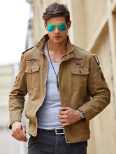 Men's Quality Military Jacket Loose Top Quality Cotton Jacket