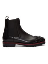 Leather Boots For Man Fabulous Cowhide Round Toe With Rivets