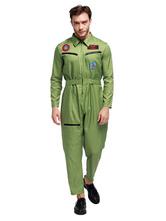 Карнавальные костюмы Пилот мужской хэллоуин сексуальный костюм комбинезон для армии костюмы