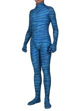 Аватар косплей полоса зентаи лайкра спандекс косплей комбинезон с хвостом