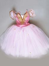 Halloween Kostüm Ballett Kleid Tutu Mädchen bestickt Ballerina Kleider Rosa Ballett Tanz Kostüm Faschingskostüme