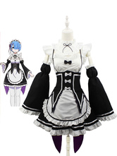 Rem Ram Maid Carnival Cosplay Costume Re Zero Starting Life In Another World