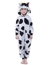 Disfraz Carnaval Traje de la mascota de vaca sintética mono  Halloween