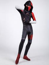 Fortnite Cosplay Samsung S10 Ikonik Skin Jumpsuit Cosplay Zentai