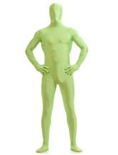 Grass Green Zentai Suit Adults Morph Suit Full Body Lycra Spandex Bodysuit for Men