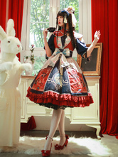 Chinese Style Lolita OP Dress Infanta Kimono Pleated Fringe Pleated Lolita One Piece Dresses