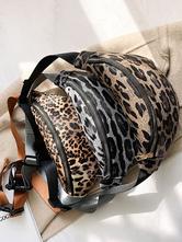 Женская леопардовая сумка с поясом мини-сумка