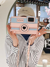 Camera Bag Box Shape Crossbody Bags