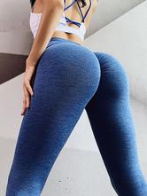 Pantalones de yoga Stretch Woman Cycling Leggings Pantalones de entrenamiento