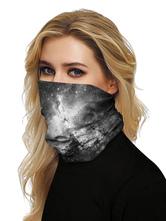 Маска для лица Бандана Бесшовная крышка для рта Вселенная 3D Print Tube Headwear
