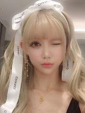 Sweet Lolita Wig Long Fibre résistante à la chaleur Blonde Lolita Hair Wigs Déguisements Halloween