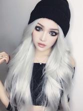 Lolita doce peruca longa fibra resistente ao calor Lolita peruca de cabelo